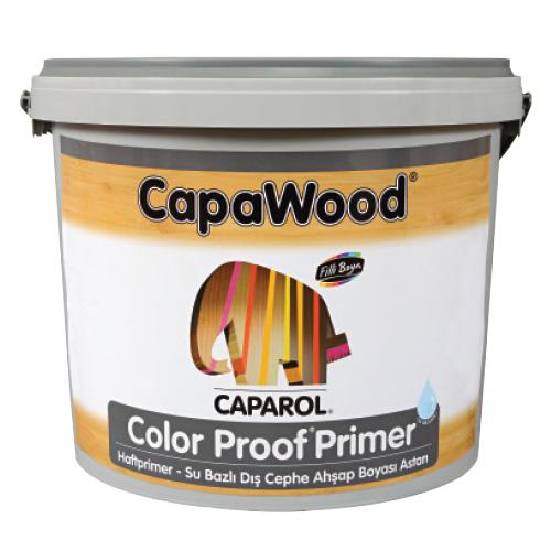 CapaWood® Color Proof ® Primer Su Bazlı Dış Cephe Ahşap Boyası Astarı