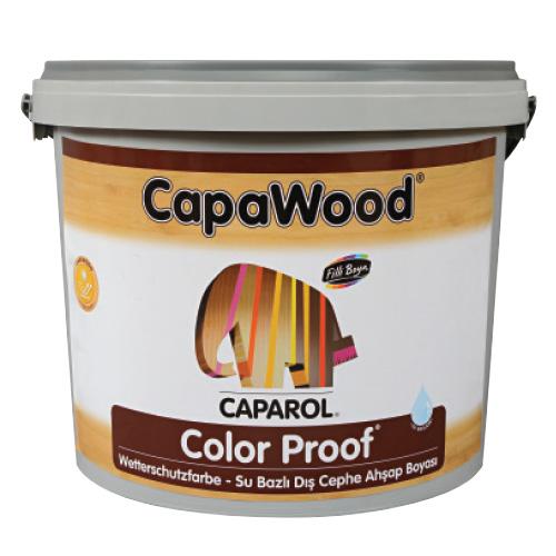CapaWood® Color Proof® Su Bazlı Dış Cephe Ahşap Boyası