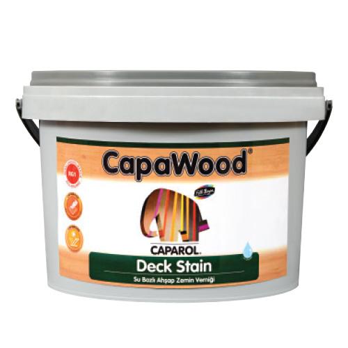 CapaWood® Deck Stain Su Bazlı Ahşap Zemin Verniği