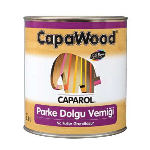 CapaWood® Parke Dolgu Verniği Nc Füller Grundlasur