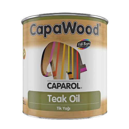 CapaWood® Teak Oil Tik Yağı