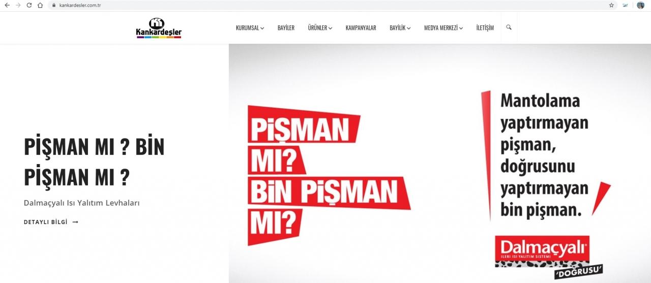 Web Sitemiz Yeni Yüzü Huzurlarınızda